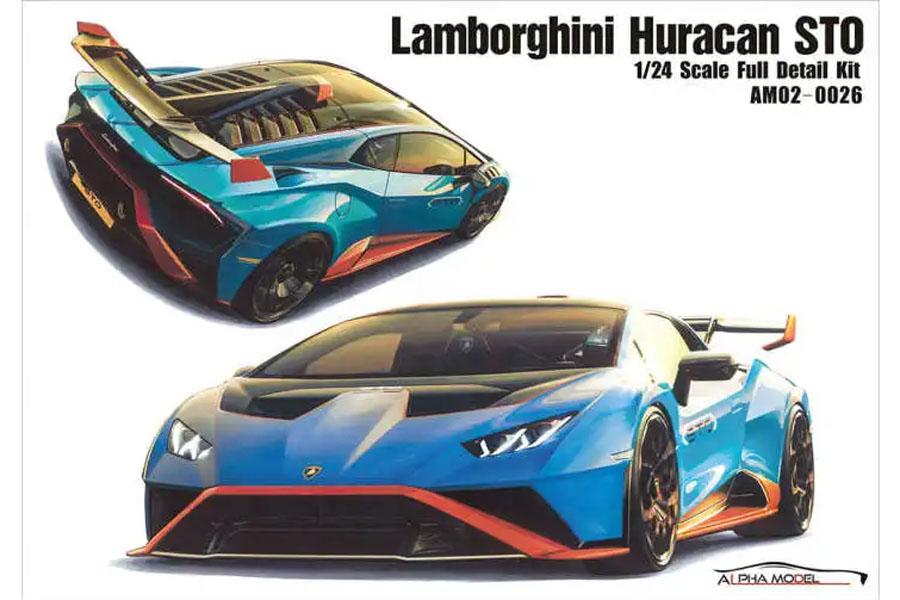 ** 予約商品 ** Hobby Design /ALPHA Model 1/24キット AM02-0026 Lamborghini Huracan STO