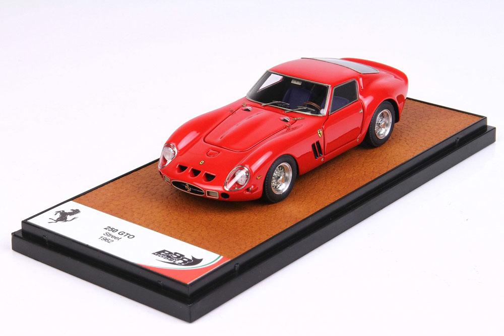BBR056A Ferrari 250 GTO Road version 1962 Red