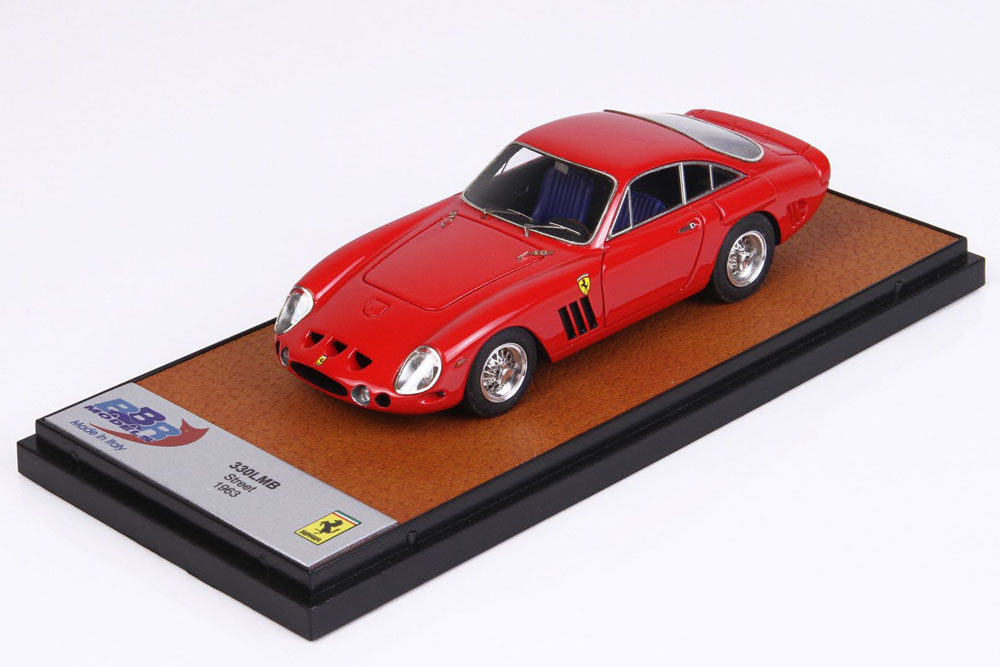 BBR077A Ferrari 330 LMB street 1963 Red
