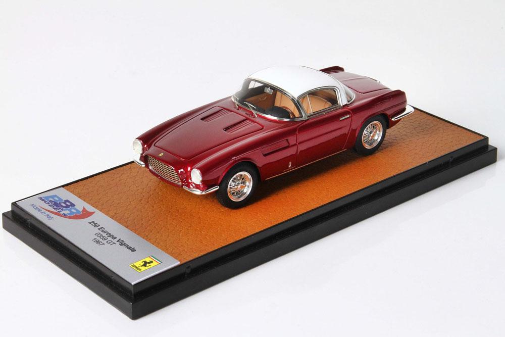 BBR105D Ferrari 250 Europa Vignale 0359GT Metallic Red