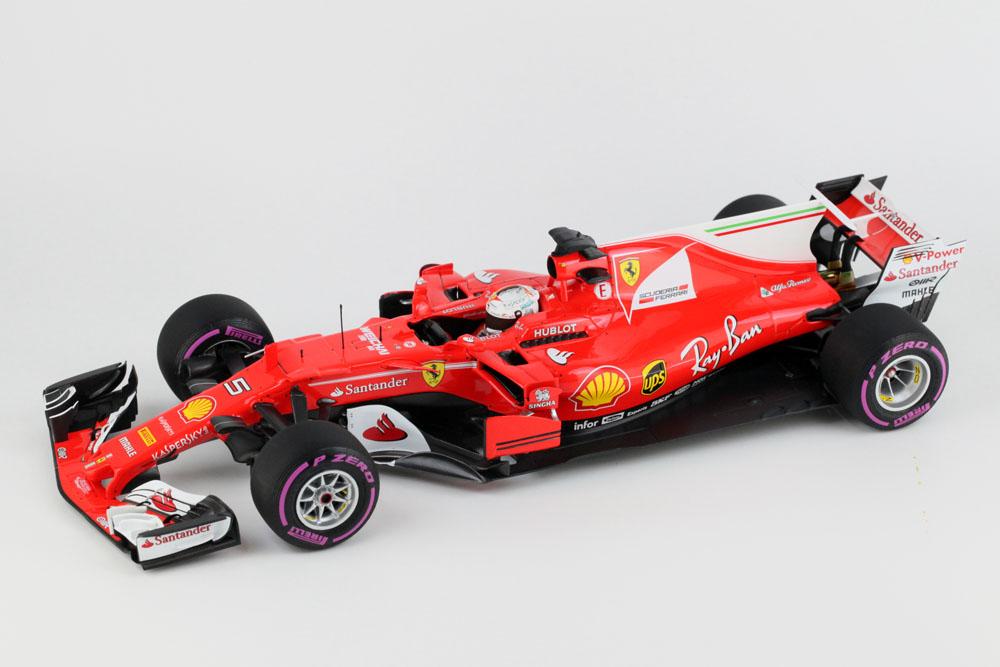 BBR181705 1/18 フェラーリ SF70-H オーストラリアGP 2017 S.ベッテル