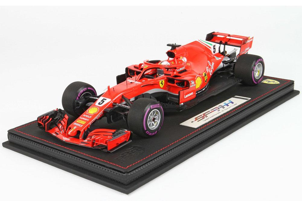 BBR181805CANSR 1/18 Ferrari SF71-H Canada GP 2018 S.Vettel Start Race Limited 100pcs (ケース付)