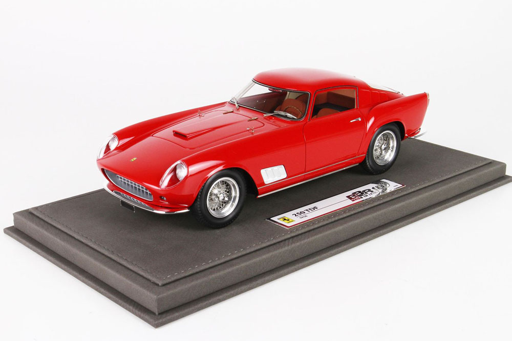 BBR1820AV 1/18 Ferrari 250 TDF faro carenato 1958 Red Limited 99pcs (ケース付)