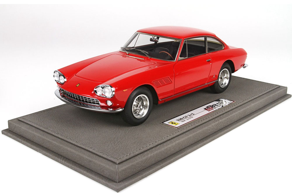 BBR1832AV 1/18 Ferrari 330GT 2+2 SN.5731 Red Limited 200pcs (ケース付)