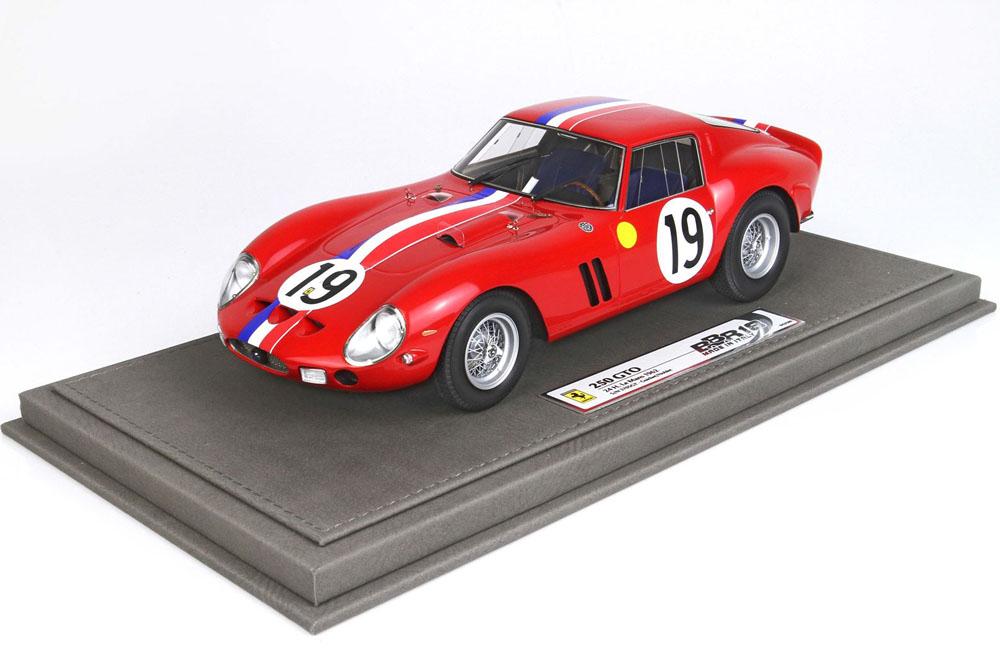 BBR1854V 1/18 Ferrari 250GTO Le Mans 1962 SN 3705 GT Limited 200pcs (ケース付)