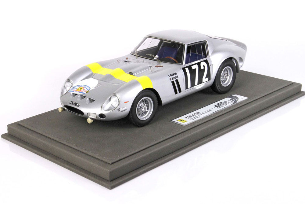 ** 予約商品 ** BBR1856V 1/18 Ferrari 250 GTO Winner Tour de France 1964 n.172 Limited 158pcs (ケース付)