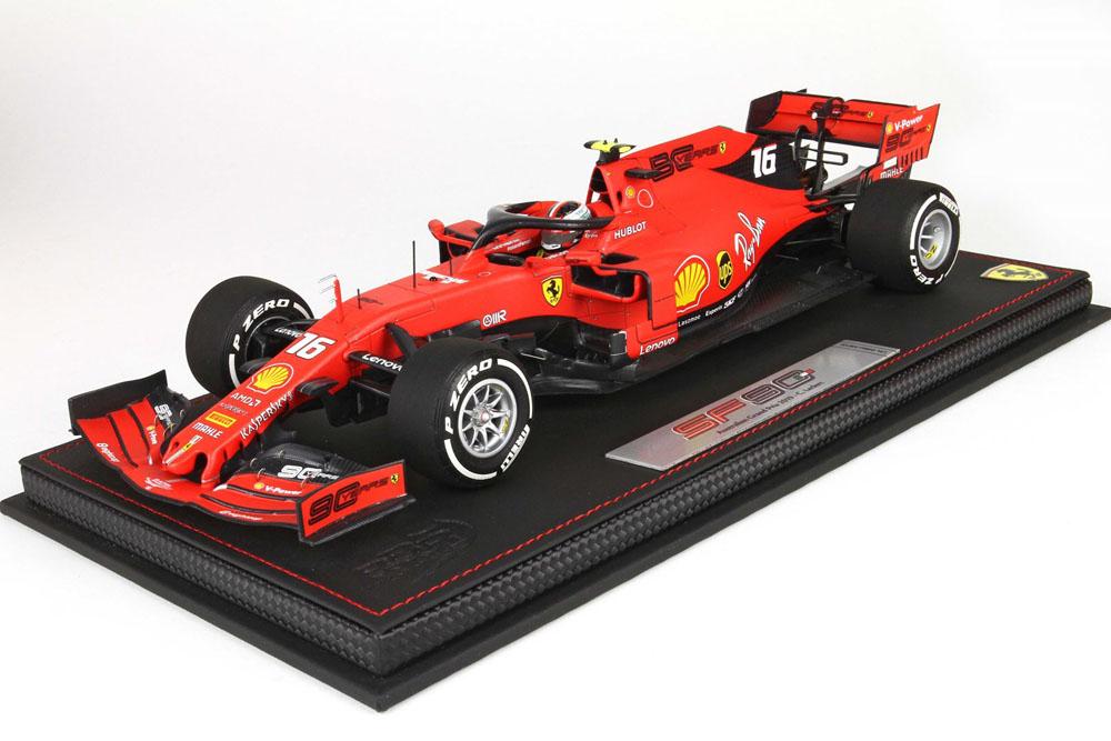 BBR191816ST 1/18 Ferrari SF90 Australia GP 2019 C.Leclerc n.16  Limited 100pcs (ケース付)