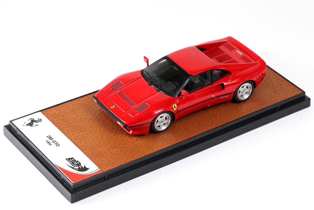 ** 再入荷待ち ** BBR198A フェラーリ 288GTO 1984 Rosso Corsa