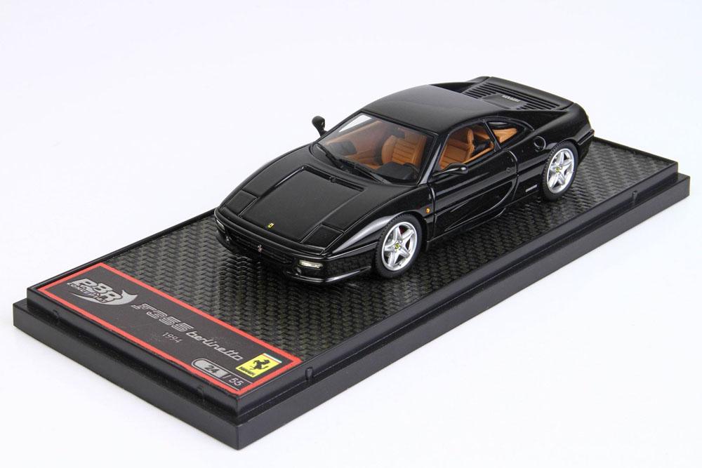BBRC009C Ferrari F355 Berlinetta 1994 Black Limited 55pcs