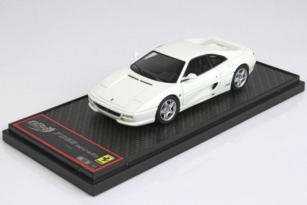 BBRC009D Ferrari F355 Berlinetta 1994 White Limited 55pcs