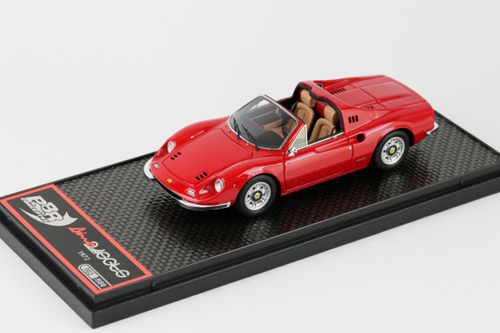BBRC054A フェラーリ Dino 246 GTS 1972 Red 500台限定