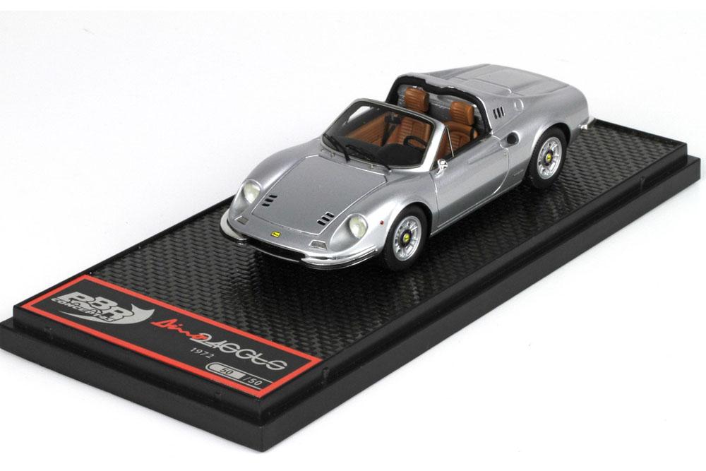 ** 予約商品 ** BBRC054H Ferrari Dino 246 GTS Metal Grey 50台限定