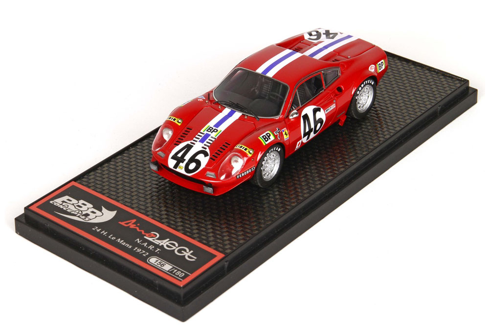 BBRC075 フェラーリ Dino 246 GT NART Le Mans 1972 n.46 180台限定