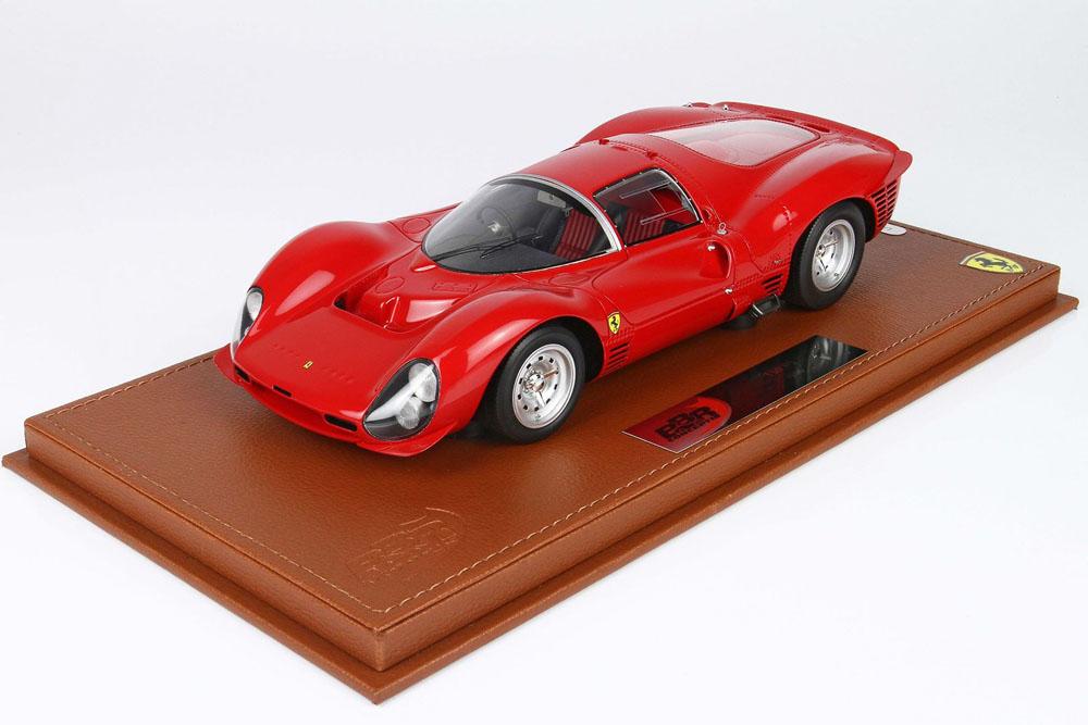 BBRC1835AW 1/18 Ferrari 330P3 1966 Rosso Corsa Limited 50pcs (ケース付)