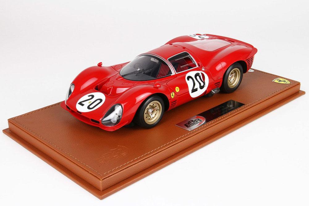 BBRC1835B1V 1/18 Ferrari 330P3 Le Mans 1966 n.20 Limited 50pcs (ケース付)
