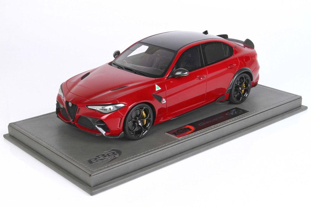 BBRC1851V 1/18 Alfa Romeo Giulia GTA Rosso GTA /(ゴールドキャリパー) Limited 250pcs (ケース付)
