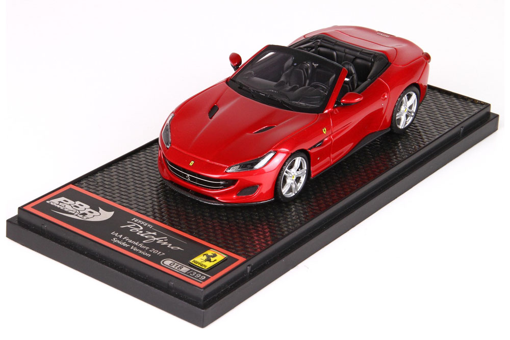 ** 予約商品 ** BBRC207A Ferrari Portofino Rosso Portofino 399台限定