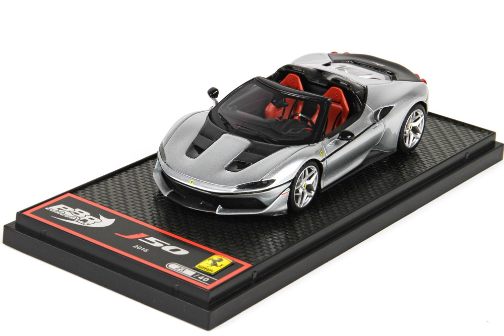 BBRC208D Ferrari J50 Pure Metal Silver / Red Limited 40pcs