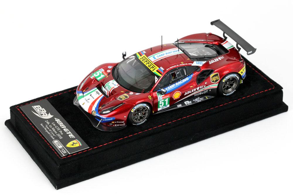BBRC213 Ferrari 488 GTE EVO Le Mans 2018 Af Corse n.51 Limited 120pcs