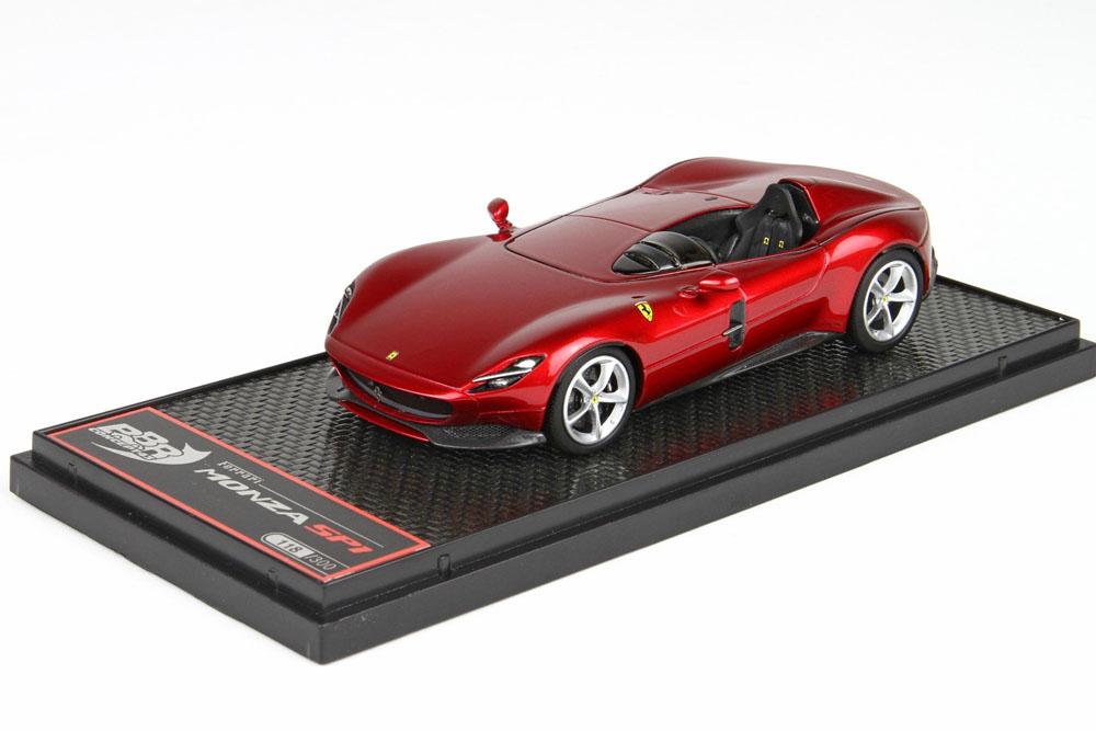 BBRC220B Ferrari Monza SP1 Rosso Magma Met. Limited 300pcs