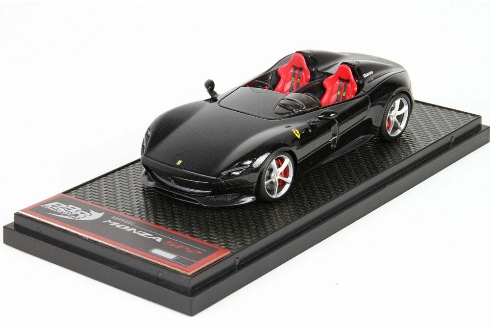** 予約商品 ** BBRC221A Ferrari Monza SP2 Black Limited 350pcs