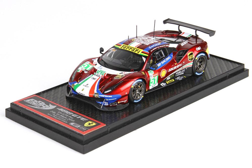 BBRC230A Ferrari 488 GTE Pro Le Mans 2019 AF Corse n.51 Class Winner Limited 250pcs