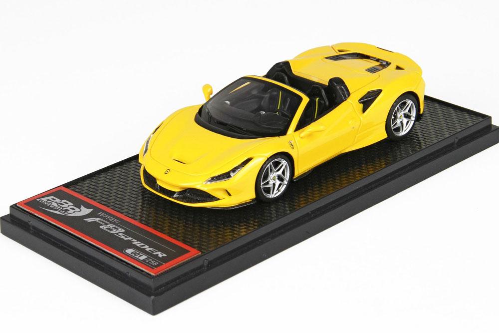 BBRC232A Ferrari F8 Spider Giallo Modena Limited 258pcs