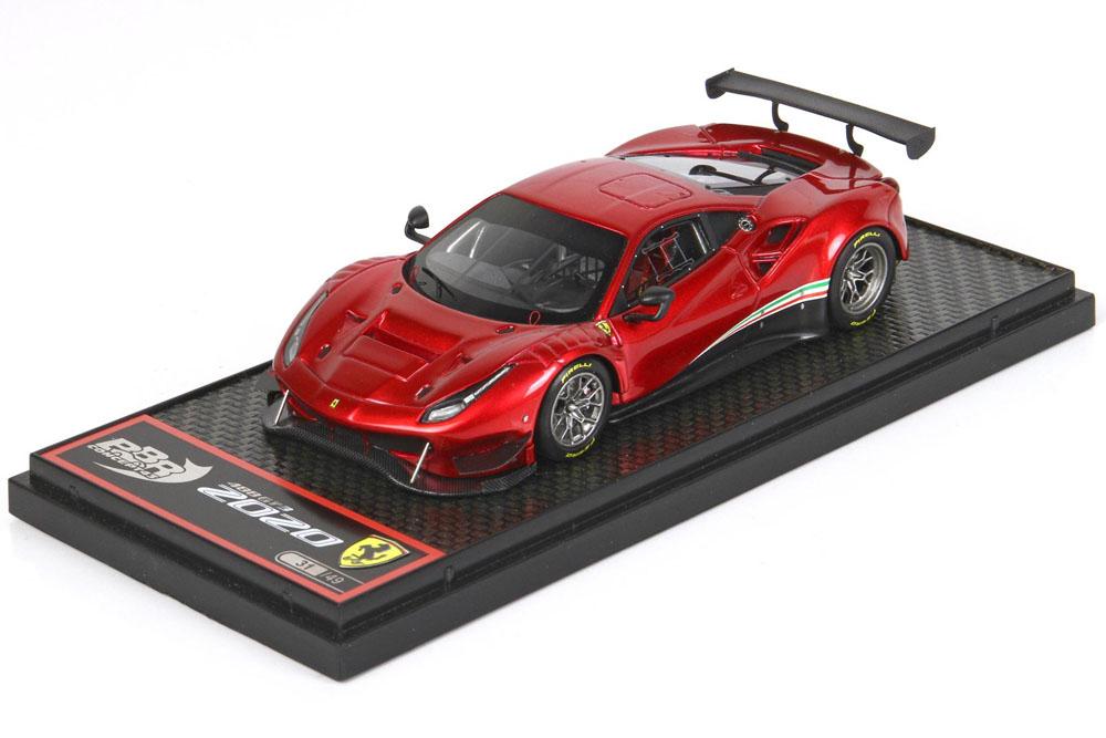 BBRC238RF Ferrari 488 GT3 2020 Rosso Fuoco Limited 49pcs