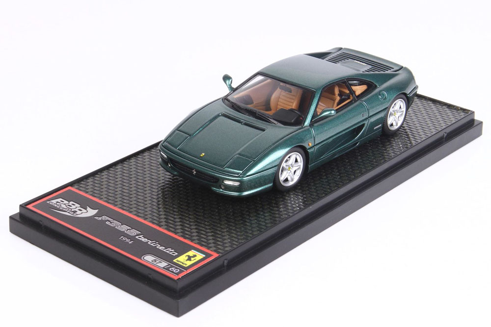 BBR CAR62A Ferrari 355 Berlinetta S/N106459 Mugello Green Limited 60pcs