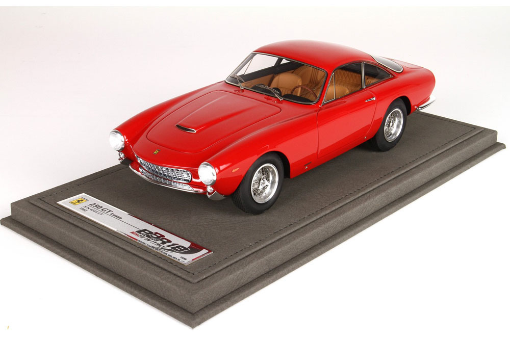 BBR CARS1812B 1/18 フェラーリ 250 GT Prototype S/N 3849 GT Red 36台限定
