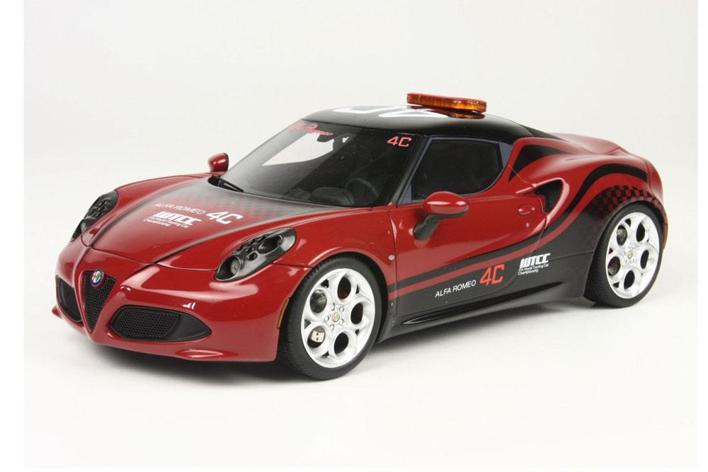 BBR/TOPMARQUES TOP11 1/18 アルファロメオ 4C Safety Car WTCC