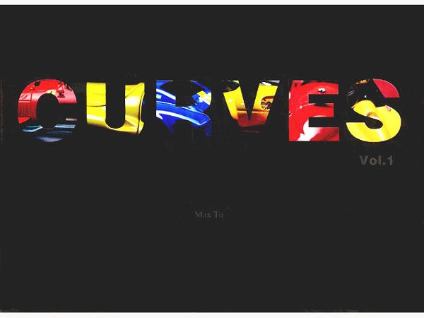 書籍 CURVES vol.1  1/43 Model Car 写真集