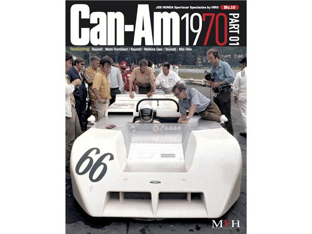 書籍 Sportscar Spectacles No.10 Can-Am 1970 Part 01