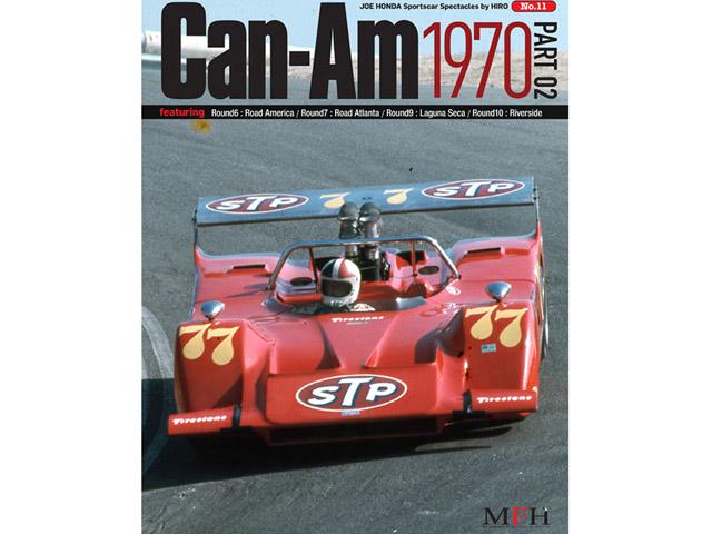書籍 Sportscar Spectacles No.11 Can-Am 1970 Part 02