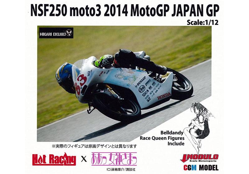 CGMmodels MK12066 1/12 NSF250 moto3 2014 MotoGP JAPAN GP