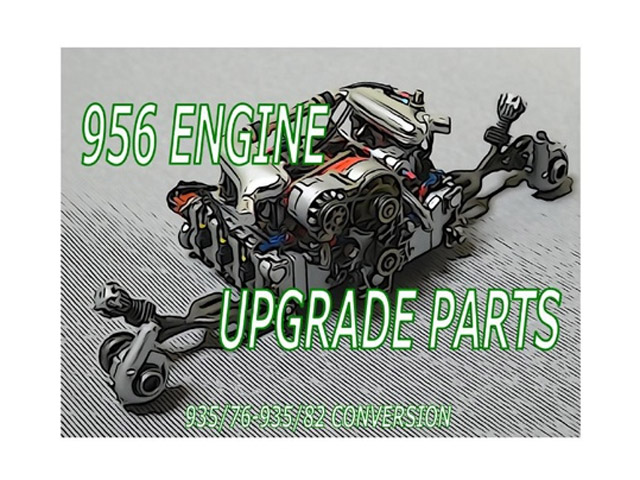 CLAY models P001 1/24 956 Engine Upgrade Parts (935/76-935/82 Conversion)