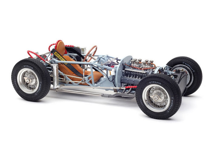 CMC M198 1/18 ランチア D50 1955 Rolling Chassis Limited Edition 1000 pcs