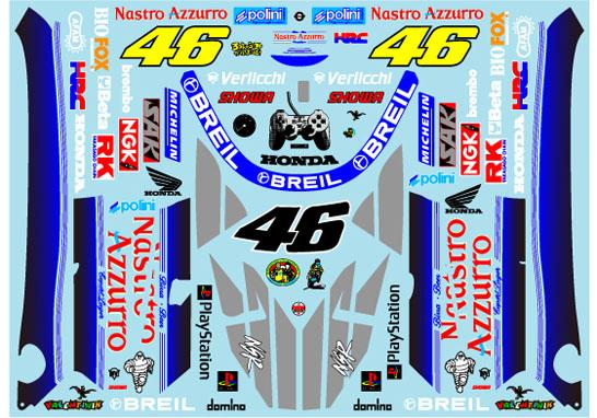 Museum collection D891 1/12 Honda NSR500 '00 Nastro Azzurro (Tamiya) 【メール便可】