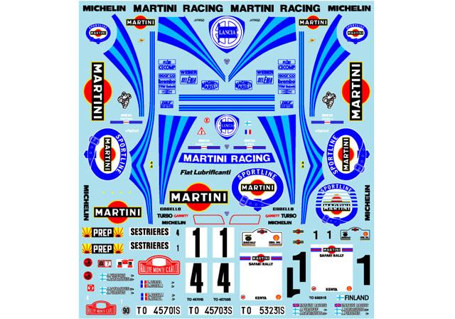 Museum collection D904 1/24 Lancia Delta 92 Montecarlo&Safari (Hasegawa) 【メール便可】