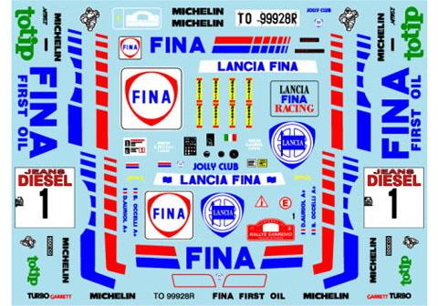 Museum collection D916 1/24 Lancia Delta 91 Sanremo FINA (Hasegawa) 【メール便可】