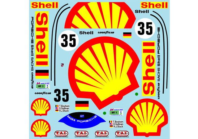Museum collection D926 1/24 Porsche 962C Dauer Shell 94LM 【メール便可】