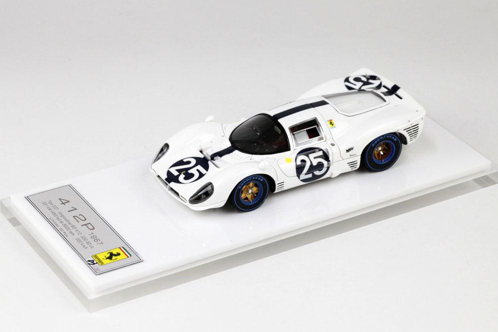 DMH MC017 1/43 Ferrari 412P Daytona 1967 No.25 Limited 30pcs