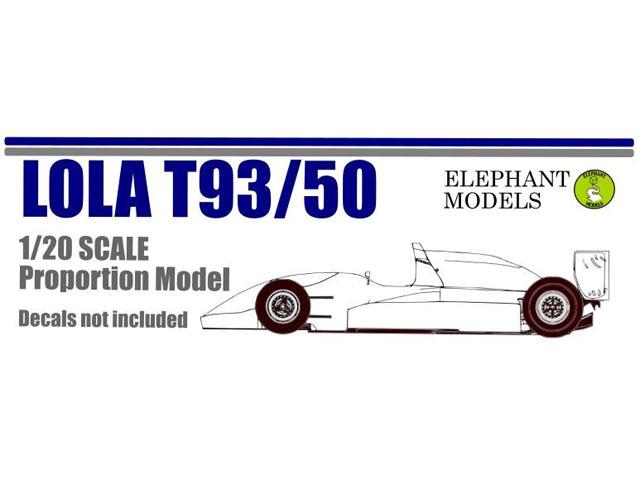** 予約商品 ** Elephant Models EM2003P 1/20 Lola T93/50 Mugen MF308 1993 Proportion Model