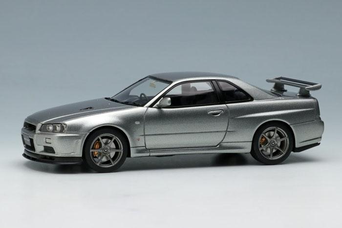 EIDOLON EM371C Nissan SkylineGT-R (BNR34) V-spec II 2000 Sparkling Silver