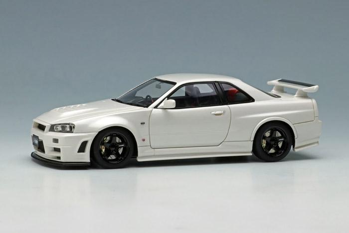 ** 予約商品 ** EIDOLON EM396C Nismo R34 GT-R Z-tune White Pearl