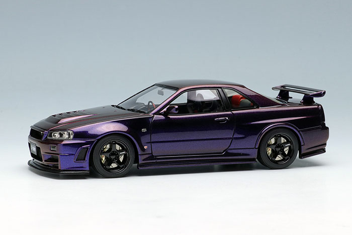 EIDOLON EM396E Nismo R34 GT-R Z-tune Mid Night Purple 3