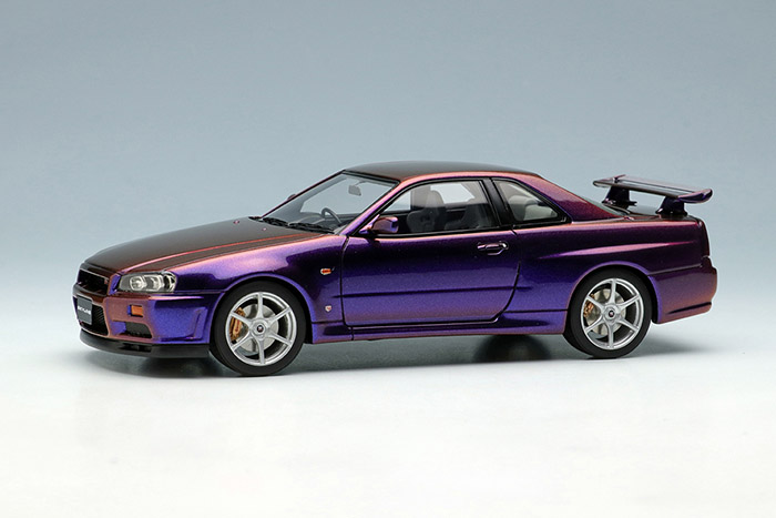 EIDOLON EM461SC2 Nissan Skyline GT-R (BNR34) Special Edition 2000 Midnight Purple 3 Limited 50pcs