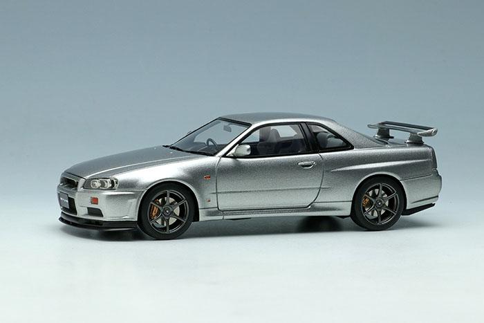 【お取り寄せ商品】 EIDOLON EM462B Nissan Skyline GT-R (BNR34) V-Spec 1999 Sonic Silver