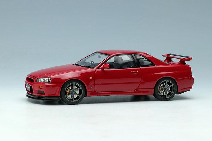 ** 予約商品 ** EIDOLON EM462C Nissan Skyline GT-R (BNR34) V-Spec 1999 Active Red