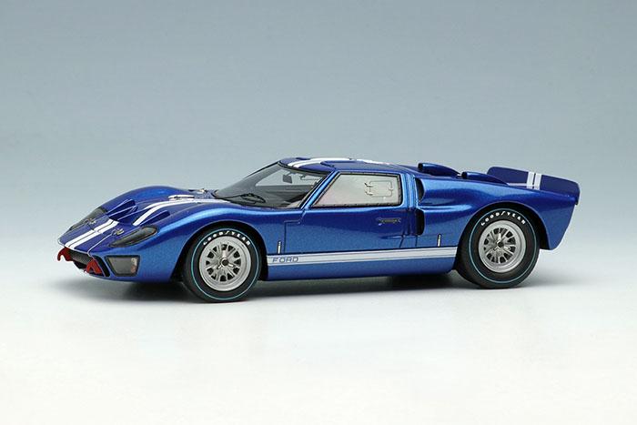 EIDOLON EM478A Ford GT40 Mk.II Street ver. 1966 Metallic Blue / White Stripe Limited 120pcs